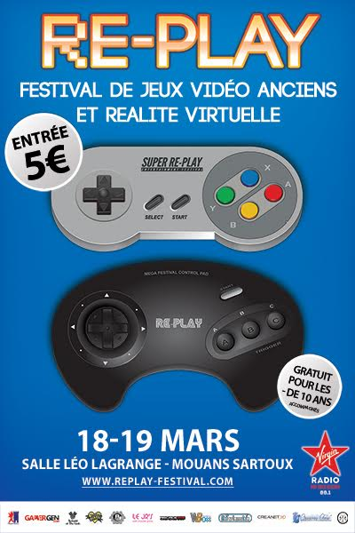 RE-PLAY #6 du 18 au 19 mars 2017 dans le 06 AfficheRE-PLAY_2017-20170221_72dpi